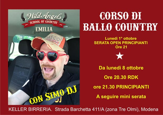 Wild Angels Corso Country Simo Dj